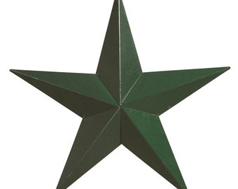 "Amish Made 24"" Heavy Gauge Metal Barn Star"
