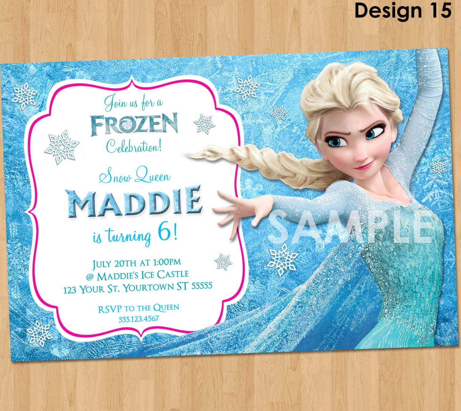 Frozen Party Invitation Ideas and get inspiration to create nice invitation ideas