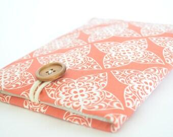 Coral Kindle Case, Kindle Voyage Sleeve, Kindle Oasis Sleeve, Kobo Aura HD, Custom eReader Cover