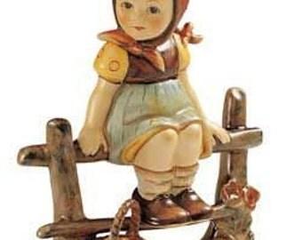 Hummel/Goebel Figurine, Just Resting10cm no.  112   3/0 61 design of 1938