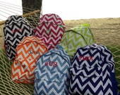 Monogrammed  Oversized Chevron Backpacks!