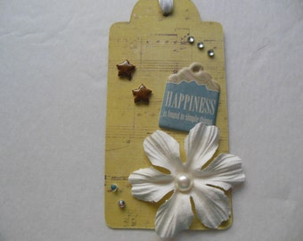 Birthday Gift Tag, Best Friend Gift, Thinking of You Gift Tag, Music Theme Gift Tag, Fun Gift Tag,