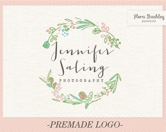 Custom Logo Design and Watermark - Premade  FB134