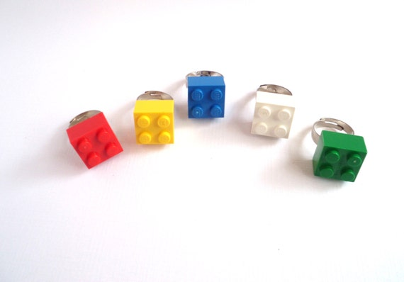 Lego Ring, Party Favors, Fashion Statement - One per Order