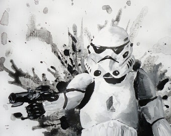 "Stormtrooper - 11""x17"" Print"