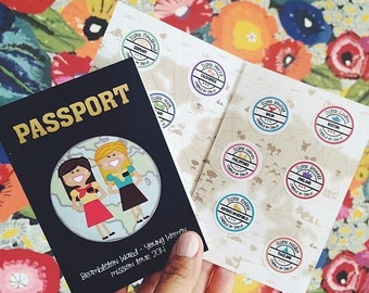 Missionary Activity Passport Booklet (Set of 25)