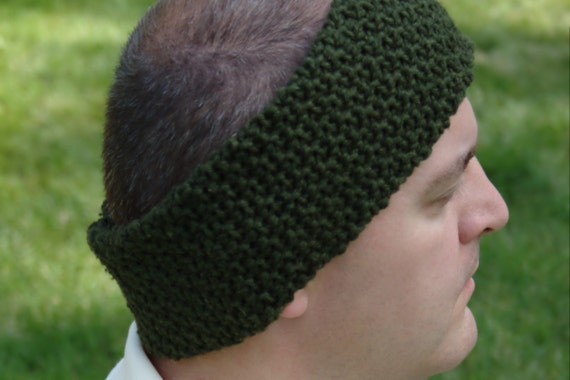 Free Crochet Pattern Mens Headband : Crochet Pattern Mens Ear Warmer Pattern DIY by ...