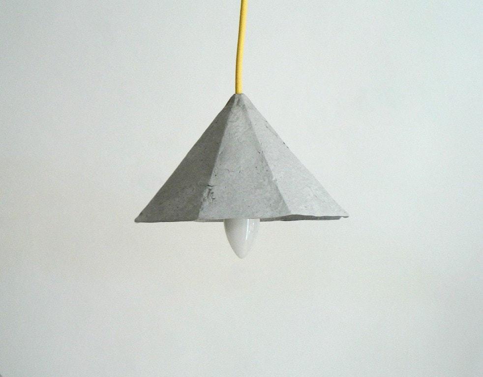 Paper Mache Lamp Diamond Lamp Pendant Light By CreaReDesign