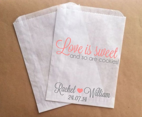 Etsy your place to buy and sell all things handmade for Cookie bags for wedding
