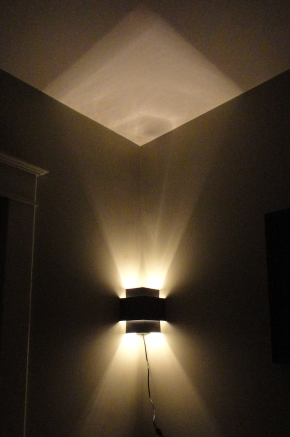 Corner Wall Light Fixture : Corner Lamp Wall Light Fixture