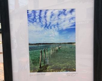 Pylons at Drakes Island