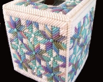 Beautiful Tissue Box Cover ABALONE Boutique Size