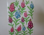 3D stickers for scrapbooking  Hollyhocks 11 stickers