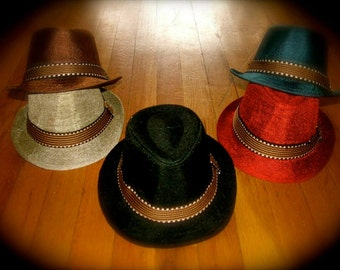 Infant Fedora Hats In Cool Colors!!