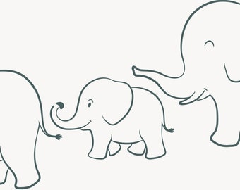 Sly image intended for elephant stencil printable