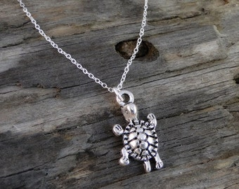 "Sea Turtle sterling silver necklace ""Turtle"""