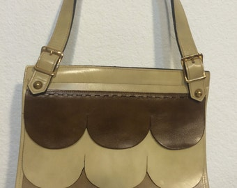 FREE   SHIPPING   1950's Leather Kelly Bag
