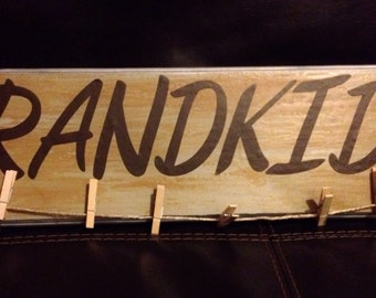 Creative Wooden Plaque for Pictures