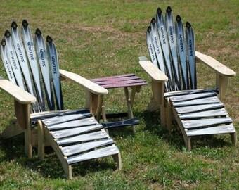 Adirondack Style Ski Chair