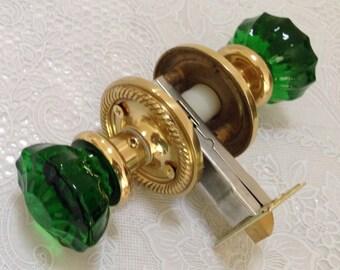 how to clean brass door knobs naturally