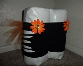 Custom EDC Daisy Rave shorts with tutu bustle