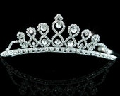 Exquisite Bridal Wedding Princess Rhinestone Crystal Tiara (484)