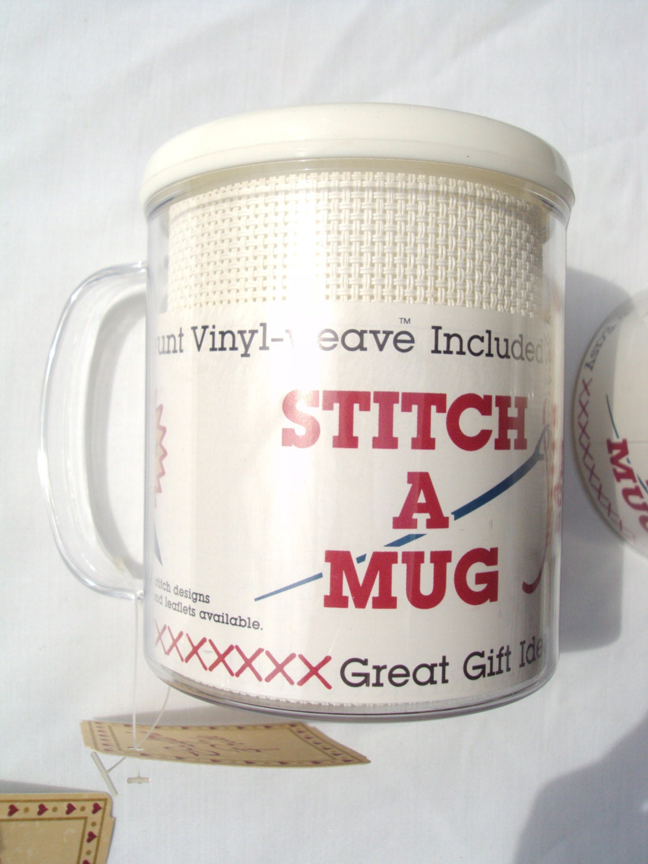 Stitch A Mug Crafter S Pride Plastic Mug With 14 Count