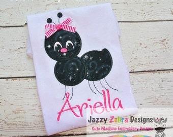 Ant Applique Embroidery Design