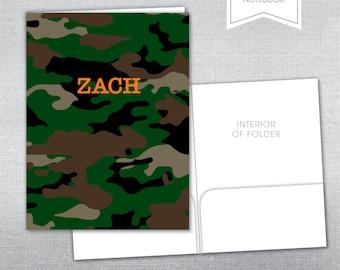 Personalized pocket folder.