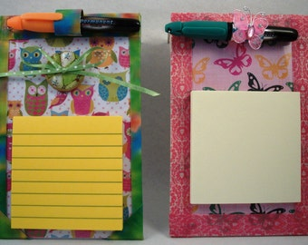 Teacher Gift Sticky Note Pad Holder