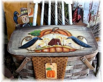 Autumn Picnic - Painted Terrye French, E-Pattern