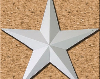 "10"" Primed Metal Tin Barn Star"