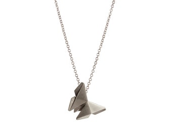 Origami Butterfly Necklace (sterling)