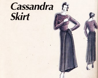 La Fred Sewing Pattern Cassandra Skirt   Size :  6-26  Uncut