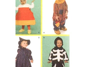"""Simplicity Sewing Pattern 4005 Halloween Costume Pattern """"Sewing for Dummies"""" Pattern   Size Toddler A 1/2, 1, 2, 3, 4."""