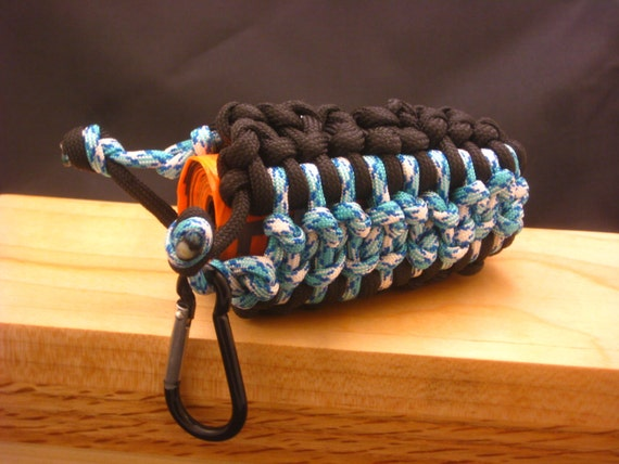 Items similar to paracord utility pouch doggie bag pouch for How to make a paracord utility pouch