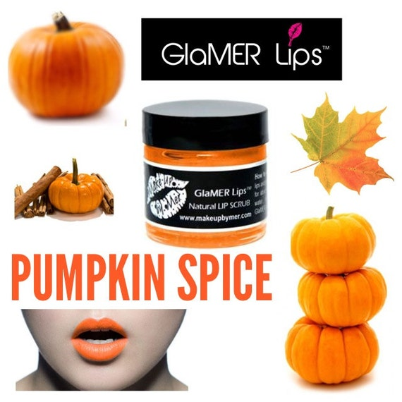 Pumpkin Spice Natural Lip Scrub