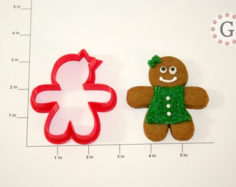 Gingerbread Woman Cookie Cutter