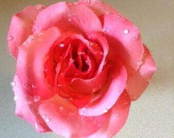 Pink Rose Flower Pen
