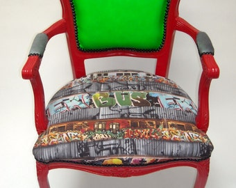 "Graffiti ""Bus"" Chair"