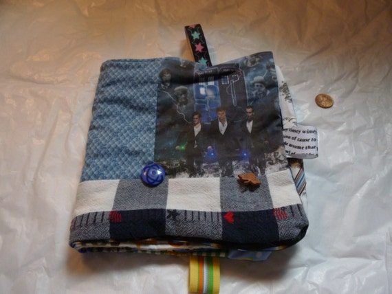 Dr who themed fabric i spy book quiet time for toddler or for Space themed fabric