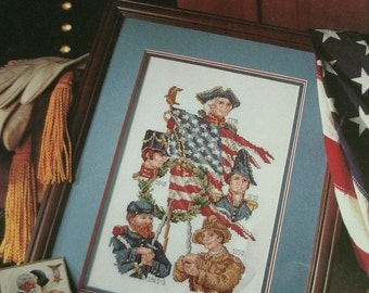 Lest We Forget - Holiday Heirlooms Book four from Leisure Arts Leaflet 2386 Cross Stitch Full Instructions Color Graph 1993