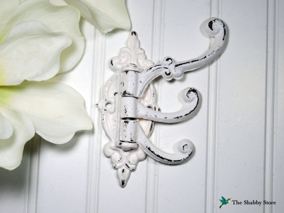 shabby chic wall hook french country coat hook victorian. Black Bedroom Furniture Sets. Home Design Ideas