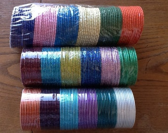 Indian children bangles - all colours- set of three