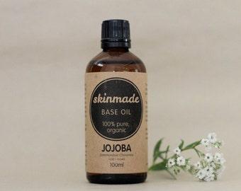 skinmade JOJOBA BASE OIL -  100% organic, cold pressed 100ml