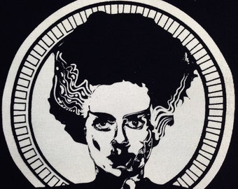 Bride of Frankenstein | Frankenstein | Horror Patch | Punk Patches | Patch