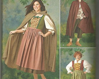 Simplicity 1771 Sewing Pattern 8 10 12 14 16 18 xs -xl Halloween Costumes Uncut