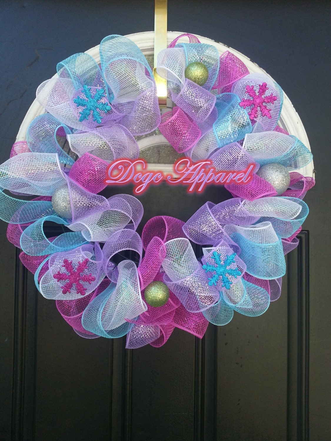 Christmas Holiday Door Wreath