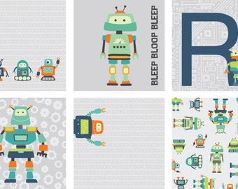 Robot Paper for Print or Digital Use