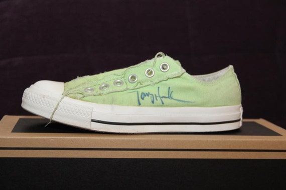 tony hawk shaun white shoes autograph signed converse by